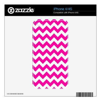 Galones brillantes de las rosas fuertes skin para el iPhone 4S