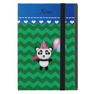 Galones conocidos de encargo del verde de la panda iPad mini protectores