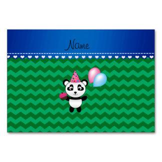 Galones conocidos de encargo del verde de la panda