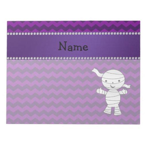 Galones conocidos personalizados de la púrpura de libreta para notas