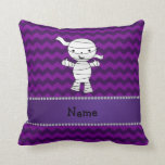 Galones conocidos personalizados de la púrpura de almohadas