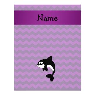 Galones conocidos personalizados de la púrpura de  tarjetón
