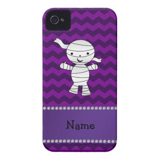 Galones conocidos personalizados de la púrpura de iPhone 4 fundas