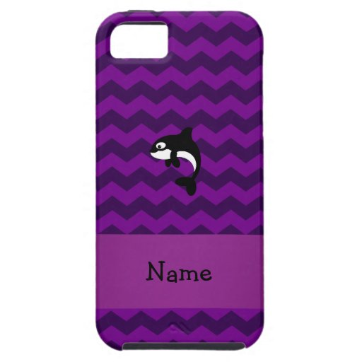 Galones conocidos personalizados de la púrpura de  iPhone 5 Case-Mate cárcasas