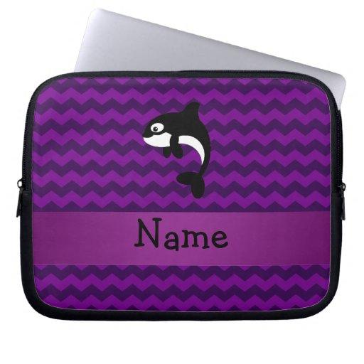 Galones conocidos personalizados de la púrpura de  manga portátil