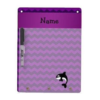 Galones conocidos personalizados de la púrpura de tablero blanco