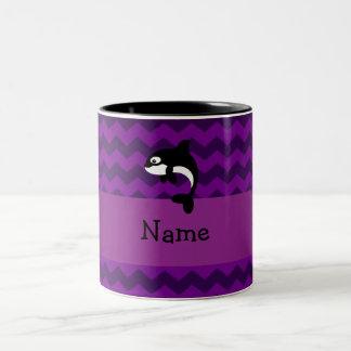 Galones conocidos personalizados de la púrpura de  taza