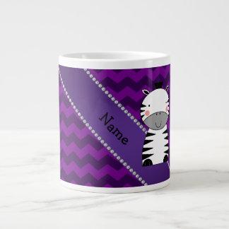 Galones conocidos personalizados de la púrpura de taza extra grande