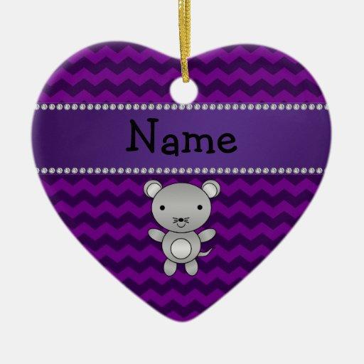 Galones conocidos personalizados de la púrpura del adornos