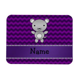 Galones conocidos personalizados de la púrpura del iman flexible