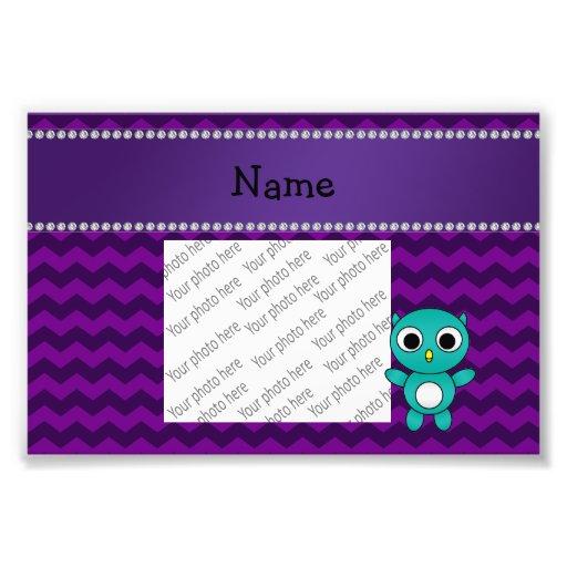 Galones conocidos personalizados de la púrpura del cojinete