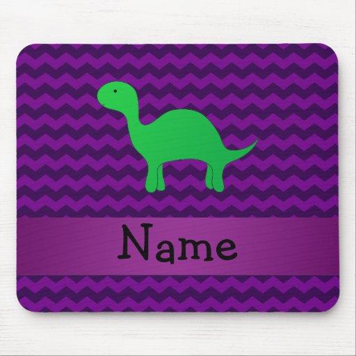 Galones conocidos personalizados de la púrpura del alfombrilla de ratones