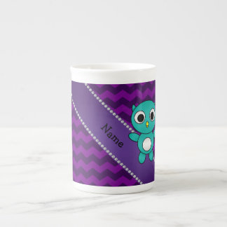 Galones conocidos personalizados de la púrpura del taza de china