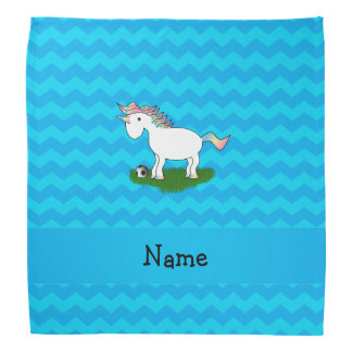 Galones conocidos personalizados del azul del bandanas