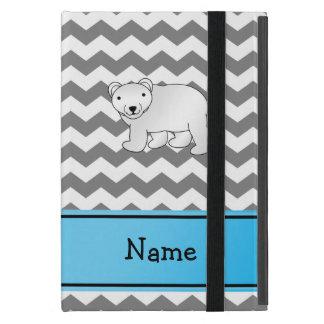 Galones conocidos personalizados del blanco gris iPad mini coberturas