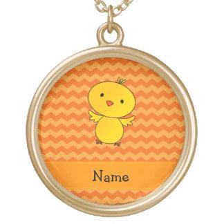 Galones conocidos personalizados del naranja del p colgantes personalizados