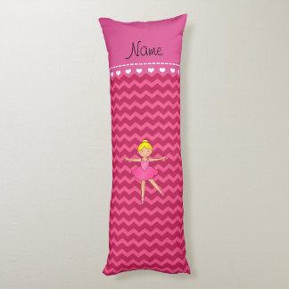 Galones conocidos personalizados del rosa de la cojin cama