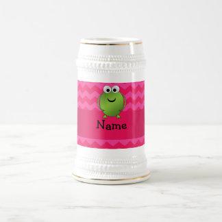 Galones conocidos personalizados del rosa de la ra tazas de café