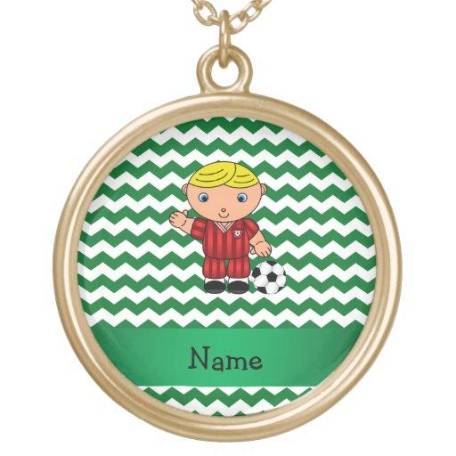 Galones conocidos personalizados del verde del jug collares