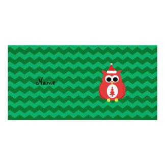 Galones conocidos personalizados del verde del tarjetas personales