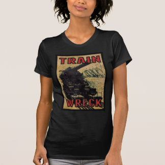 Galones de camisa de TrainWreck SOS