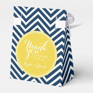 Galones de los azules marinos - el boda le cajas para regalos