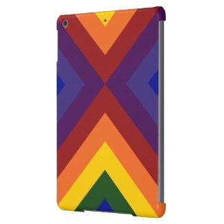 Galones del arco iris carcasa para iPad air