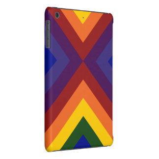 Galones del arco iris carcasa para iPad mini retina
