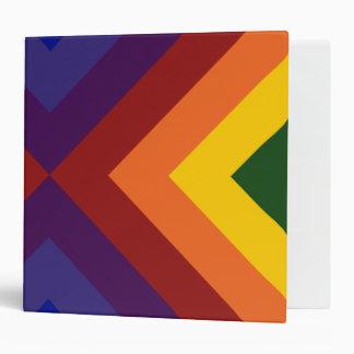 Galones del arco iris carpeta 5 cm
