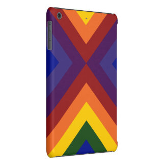 Galones del arco iris funda de iPad mini