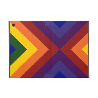 Galones del arco iris iPad mini protector