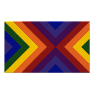 Galones del arco iris poster