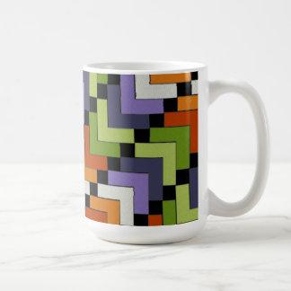 Galones del arte popular tazas de café