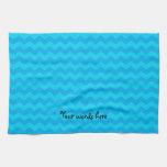 galones del azul de cielo toallas