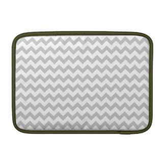 """Galones grises en el aire blanco 11"""" de Macbook ma Fundas MacBook"""