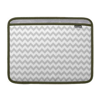 """Galones grises en el aire blanco 13"""" de Macbook ma Fundas MacBook"""