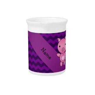 Galones lindos conocidos personalizados de la jarras de beber