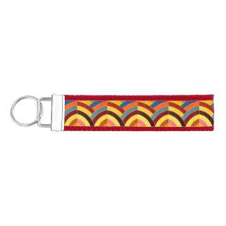 galones multicolores sofisticados elegantes llavero de pulsera