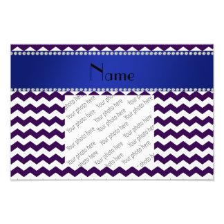 Galones púrpuras conocidos personalizados fotografías