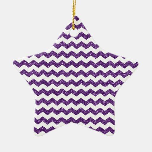 Galones púrpuras del brillo ornamento de reyes magos