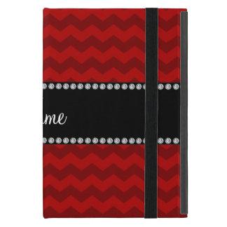Galones rojos conocidos personalizados iPad mini coberturas