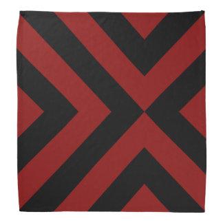 Galones rojos y negros bandanas