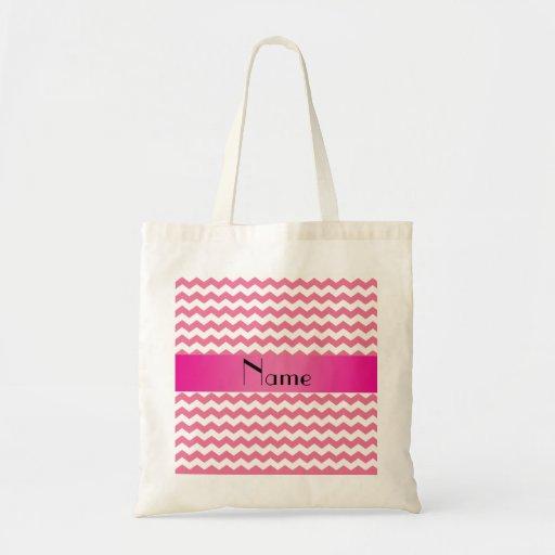 Galones rosados conocidos personalizados bolsas de mano