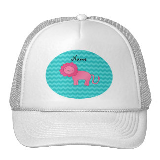 Galones rosados conocidos personalizados de la tur gorros