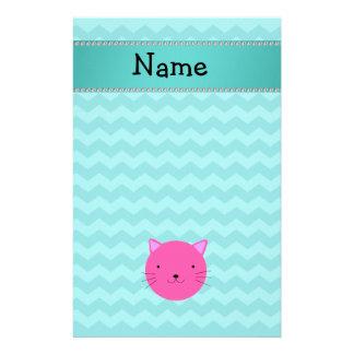 Galones rosados conocidos personalizados de la tur papeleria personalizada