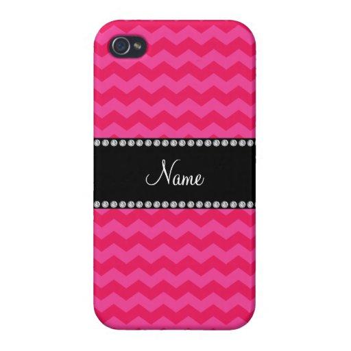 Galones rosados conocidos personalizados iPhone 4/4S carcasas