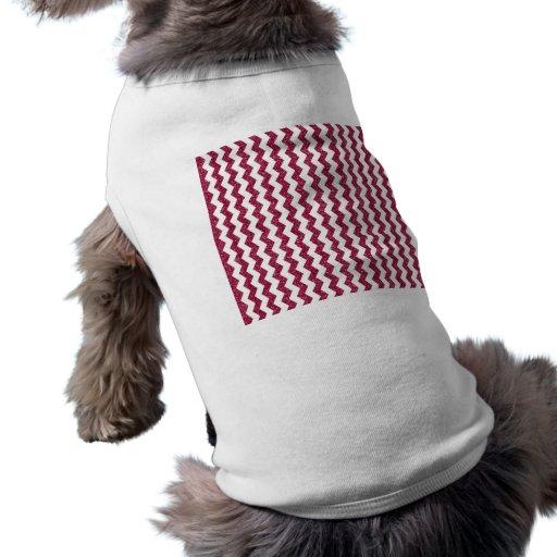 Galones rosados del brillo camisas de perritos