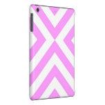 Galones rosados y blancos funda de iPad mini