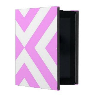 Galones rosados y blancos iPad coberturas
