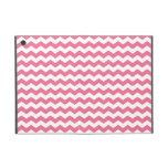 Galones rosados y blancos iPad mini cobertura